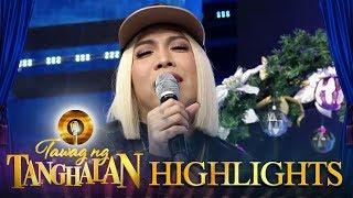 Tawag ng Tanghalan: Vice sings a sexy version of 'I Love You Boy'