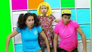 Рома КАК НЯНЯ Родители КАК ДЕТИ Дети ПРОТИВ няни Рома и Хелпик Видео для детей