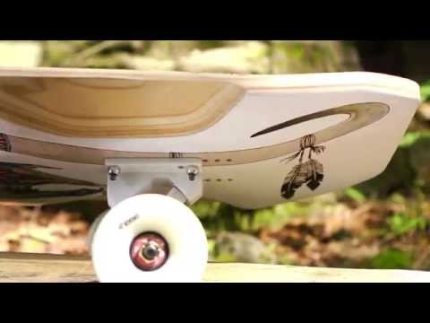 Longboard BoardGuide Reviews: The Arbiter DK with Tom