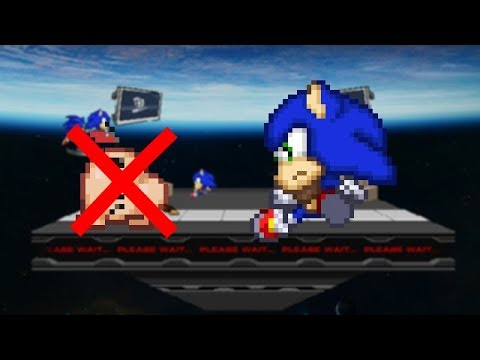 SSF2 Beta 1 0 3 2 Mods: Sonic The Fighters Sonic V2 W I P 2