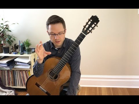 Free Method Lesson: Etude 1 & 2 (absolute beginner) for Classical Guitar