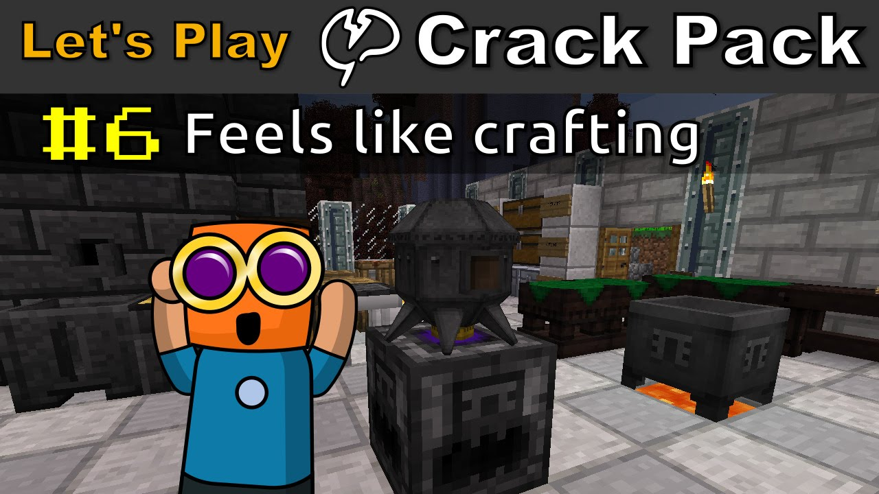 Minecraft - CrackPack #6 | Feels like crafting