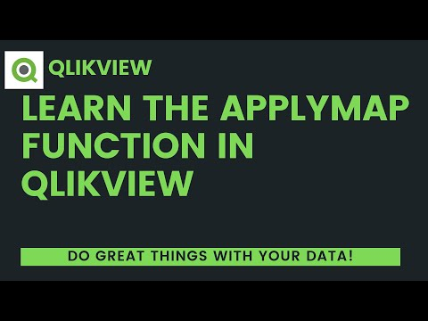 B I  Basics Part 4: Learn the QlikView ApplyMap Function