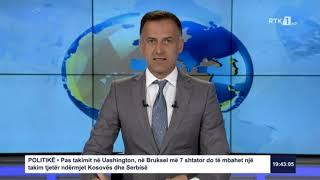 Lajmet qendrore 19:30 01.09.2020