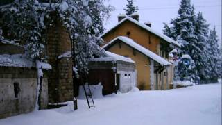 preview picture of video 'ثلوج الزبداني Zabadani snow'