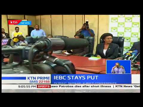 IEBC Chair Chebukati refutes to go as KHRC Executive Director-George Kegoro demands his resignation
