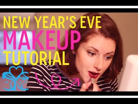 PERFECT New Year's Eve Makeup Tutorial!