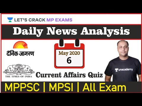 8:00 AM - Daily News Analysis | Current Affairs | The Hindu | 6th May 2020 | Competitive Exams