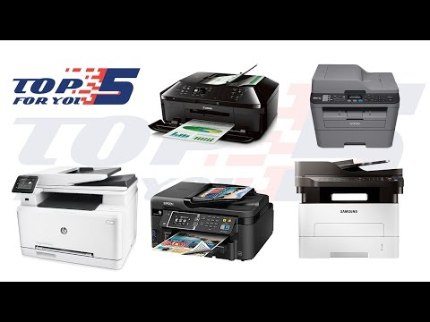 Top 5 Best All In One Printers For 2017