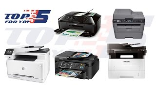 Top 5 Best All In One Printers For 2017 - 2018