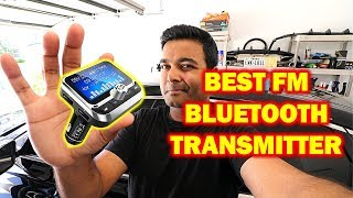 PERFECT BLUETOOTH FM Transmitter For Any Car, Truck... (Superb Sound Quality)