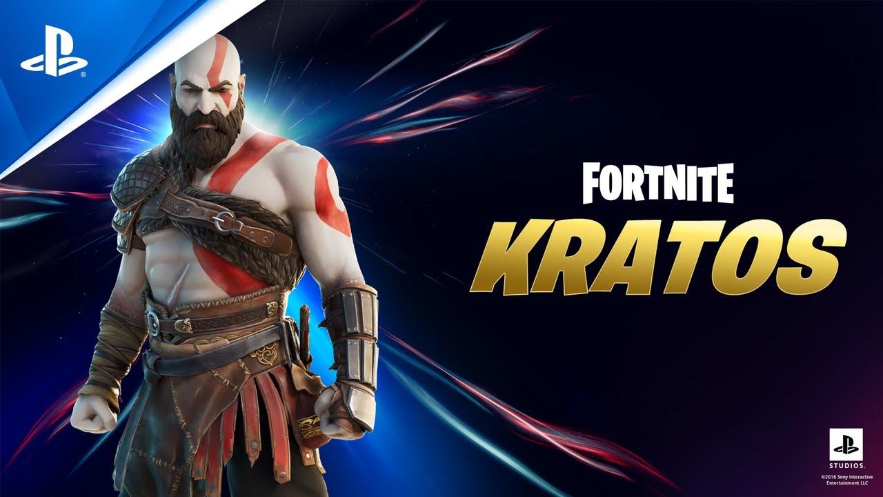 Únete a la cacería como Kratos en el capítulo 2 de Fortnite – Temporada 5