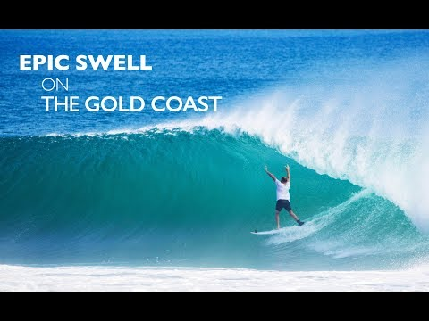 Epic Sweel on the Gold Coast At Kirra