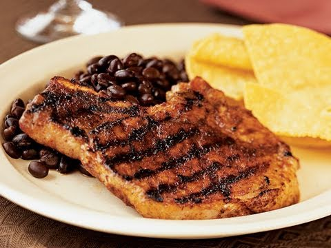 Mole-Style Pork Chops Recipe