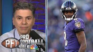 PFT Overtime: Lamar Jackson improvement, Jared Goff contract talks | Pro Football Talk | NBC Sports
