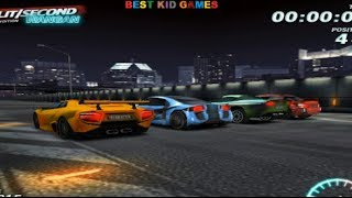 Split Second Wangan Car Racing Game - Best Kid Games