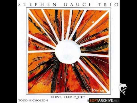 Stepehen Gauci Trio - First Keep Quiet online metal music video by STEPHEN GAUCI