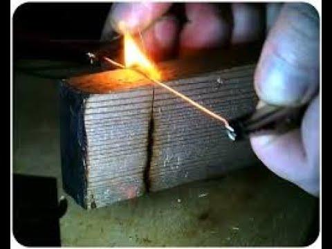 Мой незаменимый инструмент в работе. Резьба по дереву нихромом.Nichrome thread