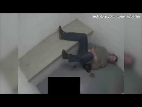 Video: Bucks County police mistake taser for a gun and shoot man in cell