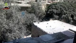 preview picture of video 'طفس ::دمار كبير نتيجة القصف في  المدينة 11-8-2013'