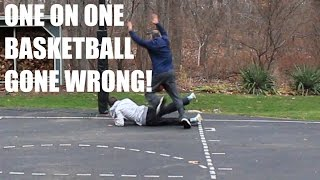 1 ON 1 BASKETBALL VS MY DAD (GONE WRONG)