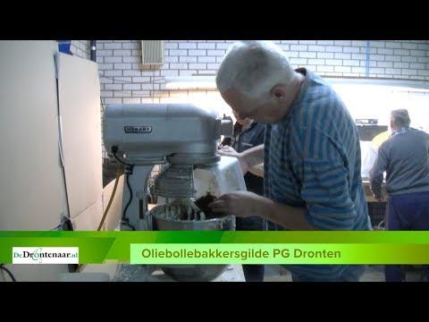 """VIDEO   PG Dronten heeft zat vrijwilligers om oliebollen te bakken: """"Een jaarlijks uitje"""""""