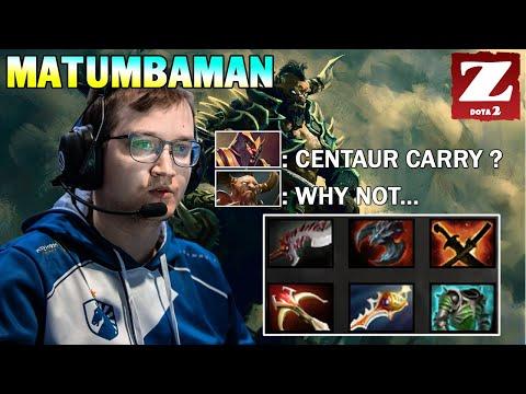 MATUMBAMAN CENTAUR WARRUNNER Carry - MVP The Game DOTA 2