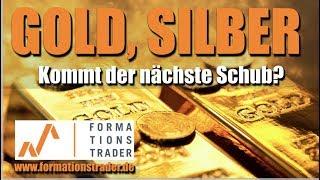 Prognose Gold, Silber, Brent