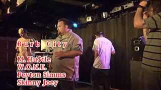 preview picture of video 'Burb City The Message (07/12/13) @ Mojo 13- Vid by: Tess Wojcik'