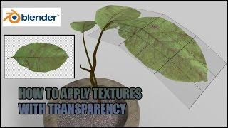 Como criar transparência de objetos no blender