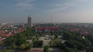 Penampakan Gedung Pemerintah Kota dari atas - video di ambil dari dji phantom 4