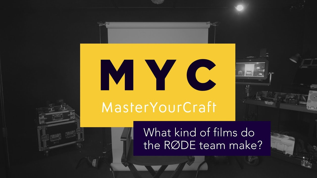What Kind Of Films Do The RØDE Team Make? | Master Your Craft FAQs