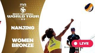 Nanjing 2-Stars - 2018 FIVB Beach Volleyball World Tour - Women Bronze Medal Match