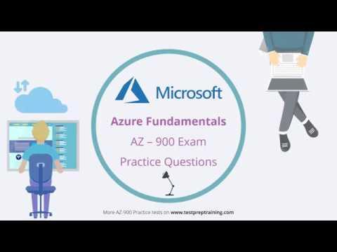 Microsoft Azure Fundamentals | AZ 900 Practice Questions | Exam ...