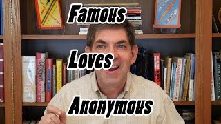 BMB #35 - Mystery:  Famous and Anonymous Love Each Other!