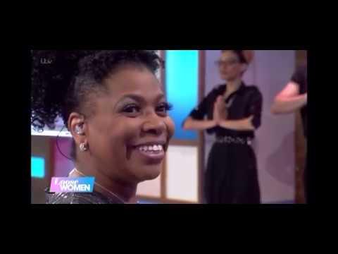 Brenda Edwards with The West End Gospel Choir on Loose Women ITV