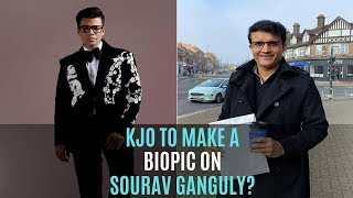 Karan Johar To Make A Biopic On BCCI President Sourav Ganguly? | SpotboyE