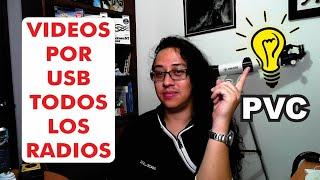 S Por Usb En Todos Los Radios Pvc