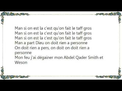 La Fouine - On Fait L'Taf Lyrics