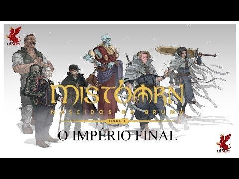 Resenha do Rei Grifo: Mistborn - O Império Final