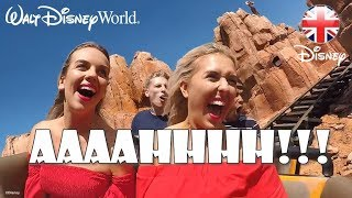 WALT DISNEY WORLD | Em Sheldon, Elle Next Door & Creators Try Disney Rides! | Official Disney UK