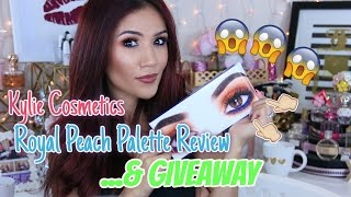 Kylie Cosmetics Palette REVIEW & GIVEAWAY