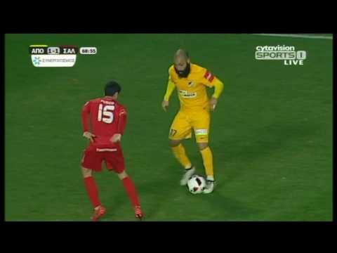 ΒΙΝΤΕΟ: ΑΠΟΕΛ 2-1 ΣΑΛΑΜΙΝΑ, Στιγμιότυπα αγώνα