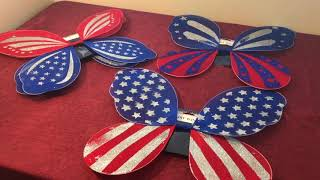 Star Spangled Fairy Wings!