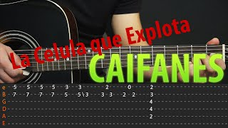 Como tocar - La Celula Que Explota - CAIFANES En Guitarra Tutorial (HD)