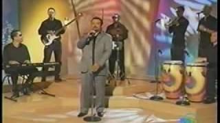 Salsa - cantante JOSE LESLIE ESCOBAR en TV de Puerto Rico  -  Fiesta de Soneros