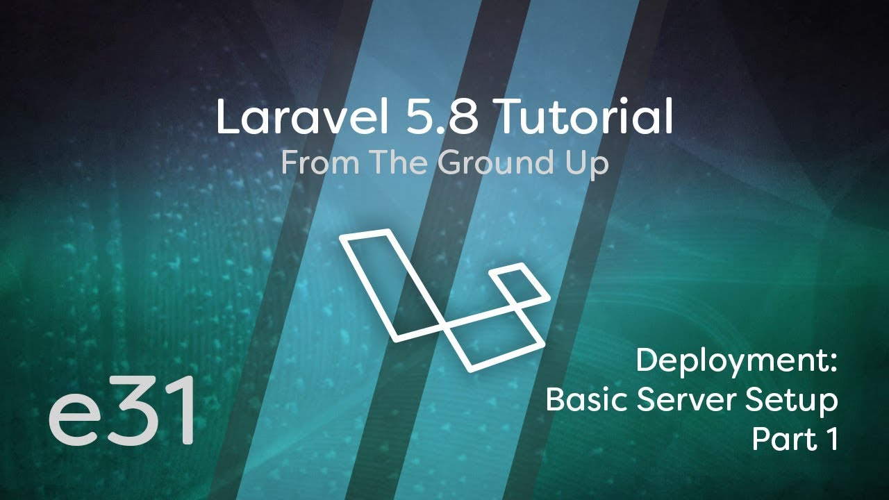 Cover image for the lesson by the title of Deployment: Basic Server Setup Part 1