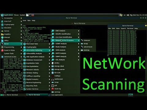 ح25: الاختراق الاخلاقي مقدمة لمرحلة network scanning فحص الأهداف وتخطيط الشبكة