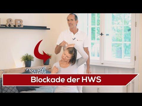 ⛔️ HWS-Blockade selber lösen ⚡️ Liebscher & Bracht