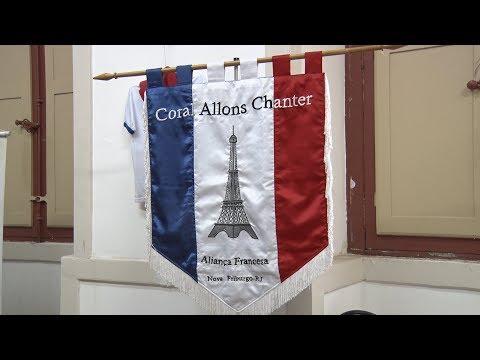 Exposição celebra os 40 anos da Aliança Francesa em Nova Friburgo